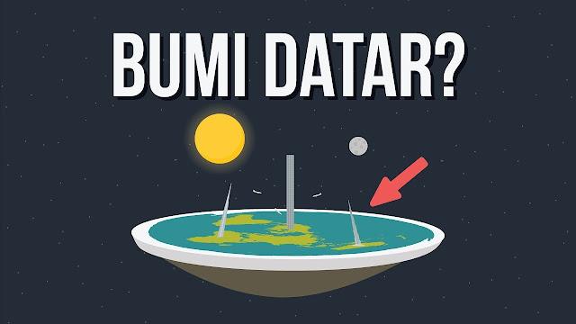Apa Yang Terjadi Jika Bumi Datar?