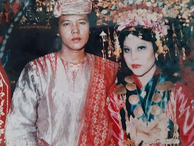 Foto pernikahan Pengantin Baru