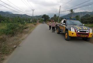 Antisipasi balapan liar Jelang buka puasa, Polsek Baraka Polres Enrekang lakukan patroli
