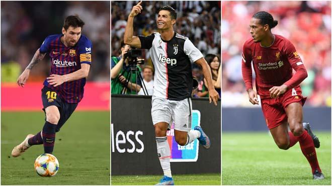 Đội hình hay nhất châu Âu: Dàn siêu sao tỷ đô, Messi - Ronaldo sát cánh