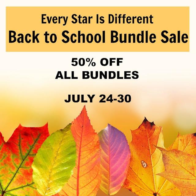 Back to School Bundle sale: All Bundles 50% OFF
