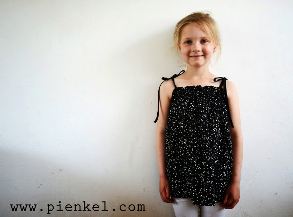 pienkel shirred summer top tutorial