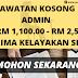 Minima SPM Boleh Mohon ! ~ Jawatan Kosong Admin 2020
