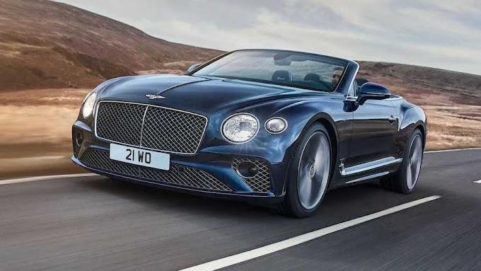 New Bentley Continental GT Speed Convertible 2022 show
