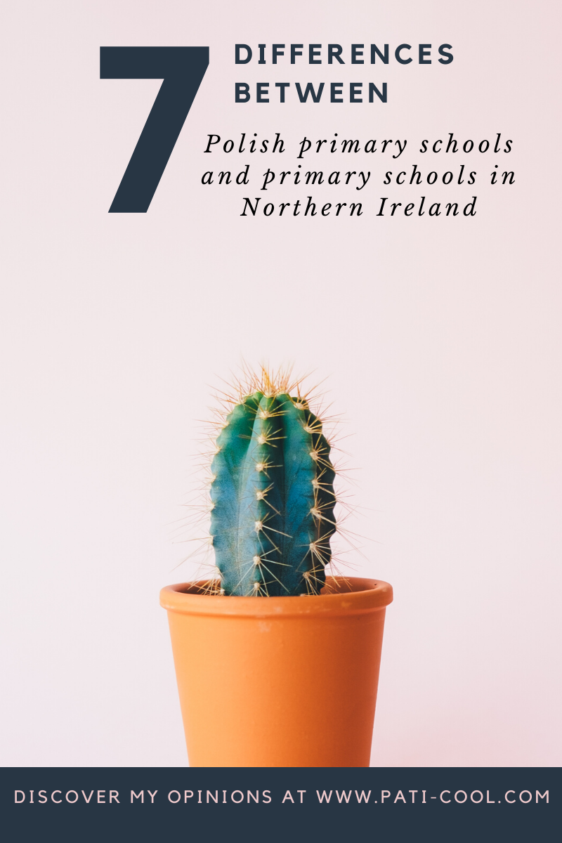 differences between Polish primary schools and english schools