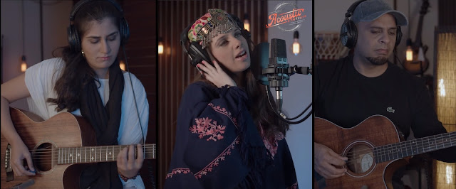 Maha Ali Kazmi's Sahibo in Acoustic Station is a rendition of the beautiful folk song performed with Kashan Admani, Mairah Khan, Veeru Shan, and others.