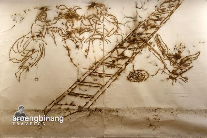 ascending cai guo-qiang museum macan modern and contemporary art in nusantara jakarta barat