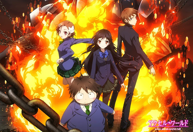 Accel World Subtitle Indonesia 1 - 24 (END) + OVA - Download Gratis