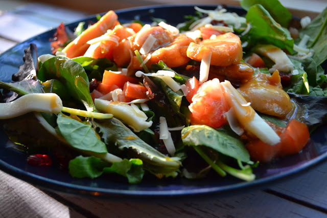 Featured Recipe | Winger's Grilled Sticky Finger Salad from Making Miracles #recipe #SecretRecipeClub #salad #copycat