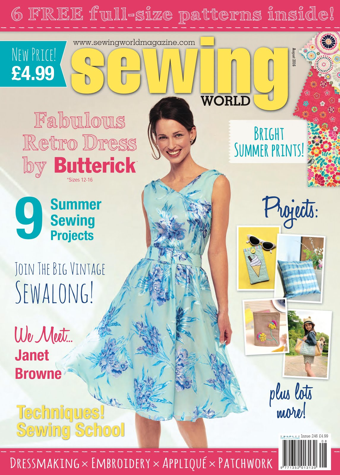 Sewing World August 2016