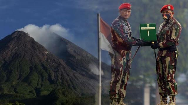 Eks Pengawal Jokowi, Putera Minang dari Lereng Gunung Marapi Resmi Jadi Danjen Kopassus