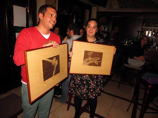 Οι τυχεροί της λαχειοφόρου της Πύλης Πολιτισμού Ναυπλίου με τα δύο χαρακτικά έργα του Francesco Moretti