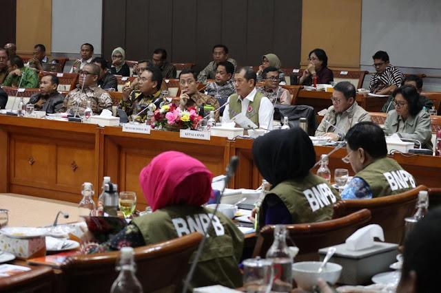 Komisi VIII DPR RI Ajak BNPB dan Kemensos Bahas Penanganan Bencana