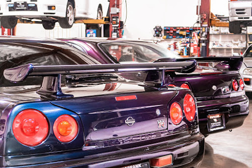 Midnight Purple II R34 GT-R imported under Show or Display. 25 Year old R33 GT-R