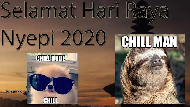 Selamat Hari Raya Nyepi 2020 - Meme Version