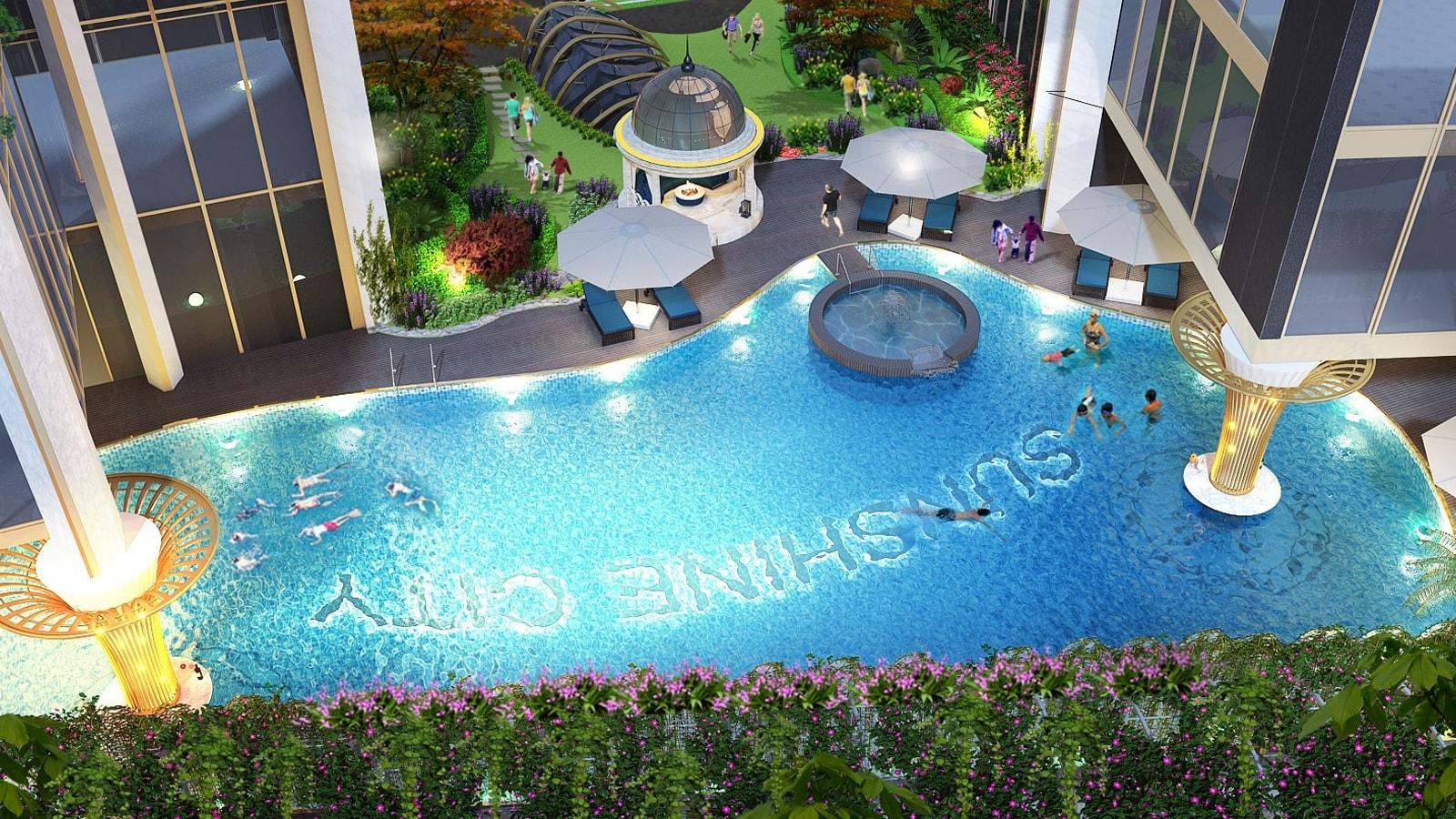 Bể bơi Sunshine City