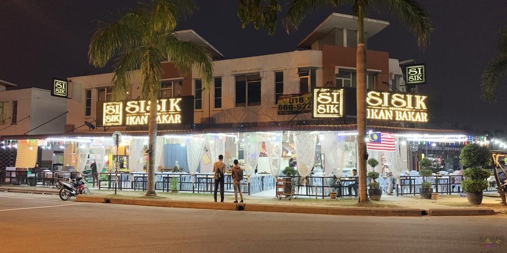 Restoran Sisik Ikan Bakar, restoran seafood di Klang, makan seafood murah di Klang, Seafood segar di Klang, Rawlins Eats, makanan laut segar, Restoran Warisan Tok Sisik, seafood murah di Klang,