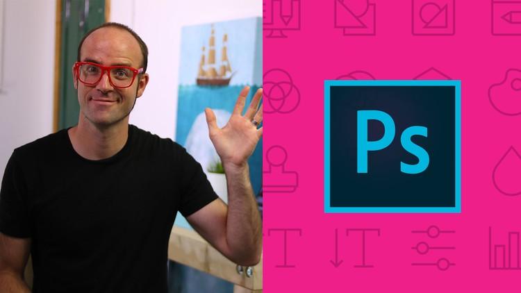 Adobe Photoshop CC – Essentials Training Course [Udemy