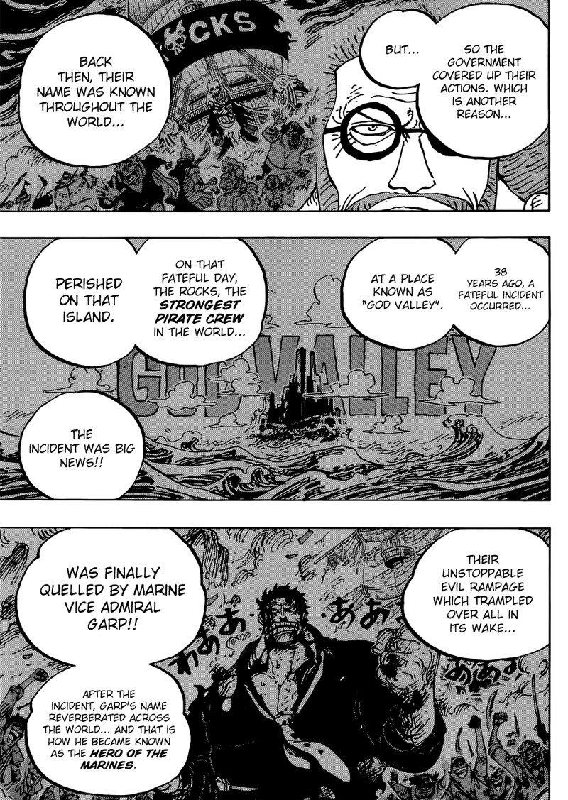 One Piece Manga Chapter 957 - Image 007