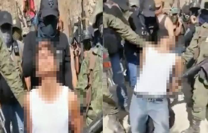 """""""Por sicario y halcón al servicio de El Randy"""", """"Comandante Z"""", interroga, decapita y descuartiza a joven """"halcón"""" de la contra en Guerrero"""