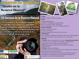 """Concurso de Fotografía con la temática """"Otoño en la Reserva Natural"""""""