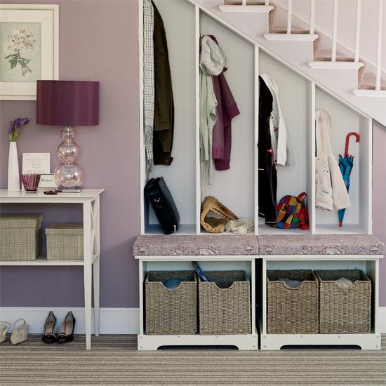 Hallway With Understairs Storage: Under Stairs Storage And Shelving Ideas (Part 1)Interior