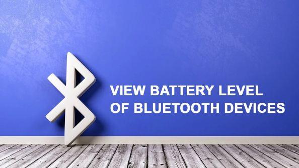 كيفية, عرض, مستوى, البطارية, لأجهزة, Bluetooth, المتصلة, بهاتف, Android