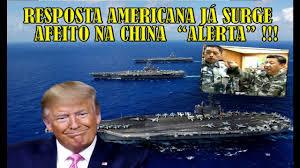 A divulgação norte americana de seus 7 porta aviões em atividade, e como outros países estão reagindo a isso