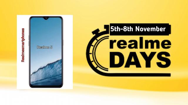 realme 5 pro c2 x festive days sale discount price cut offer flipkart realme,realme days sale,realme days,flipkart,realme x,realme 5,realme 5 pro,realme 3 pro,realme 3,realme c2