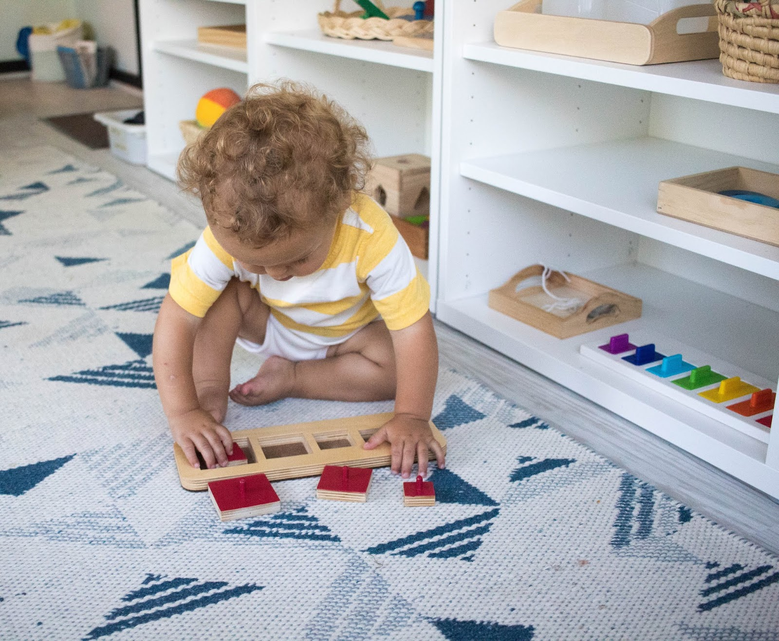 Montessori friendly toddler activities from A to Z.