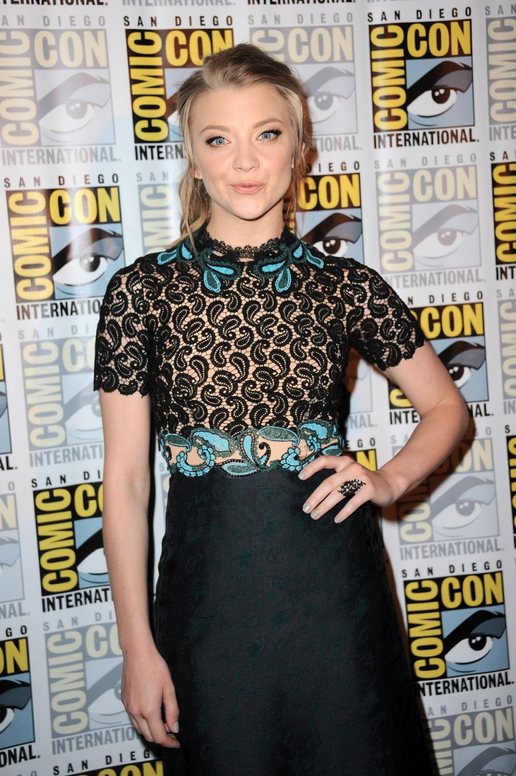 Natalie Dormer is sophisticated as she promotes 'Patient Zero' at Comic-Con 2015