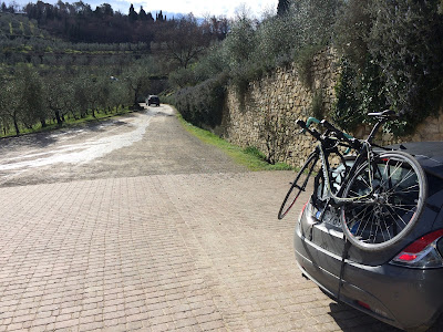 carbon road bike rental san gemini terni