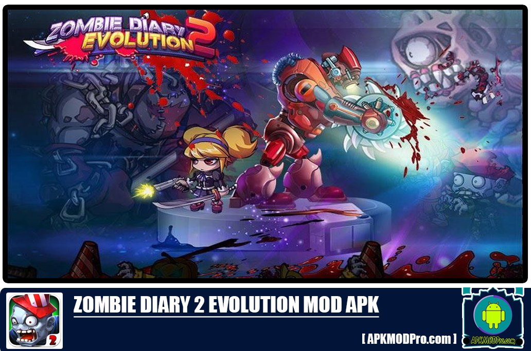 Download Zombie Diary 2 Evolution MOD APK