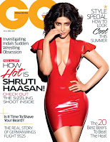 Shruti Haasan, GQ magazine, May 2016cover, hot photoshoot