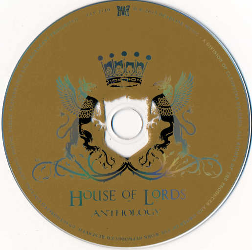 HOUSE OF LORDS - Anthology [Unreleased Songs, New Versions & Live] disc