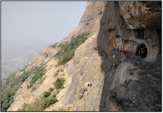 Dhak bahiri caves, dhak fort