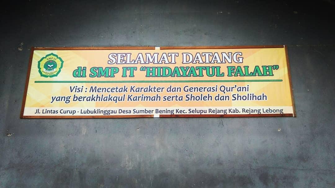SMPIT Hidayatul Falah Curup