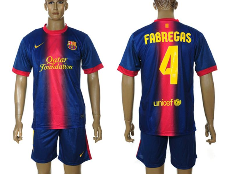 wholesale dealer 85a8d acd28 Cesc Fabregas Jersey/Kit Barcelona 2012-2013 | Wallpapers ...