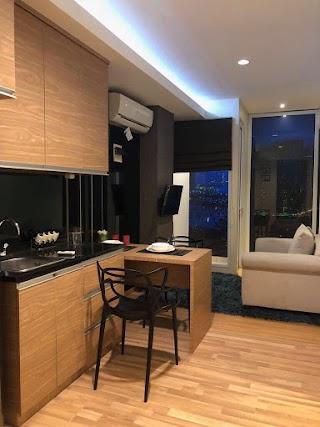 Jasa desain interior apartemen tipe studio murah di Cikarang-Bekasi