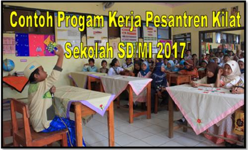 Contoh Progam Kerja Pesantren Kilat Sekolah SD/MI 2017