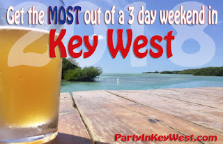 get the most of out of a 3 day weekend key west