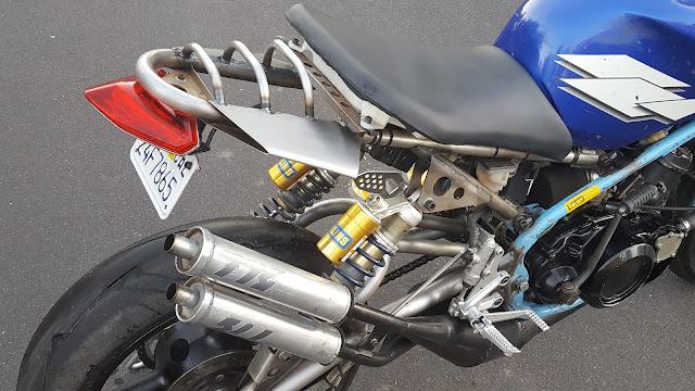 Julian Farnam Dirtbag Rat Yamaha Banshee RZ350 Rear End