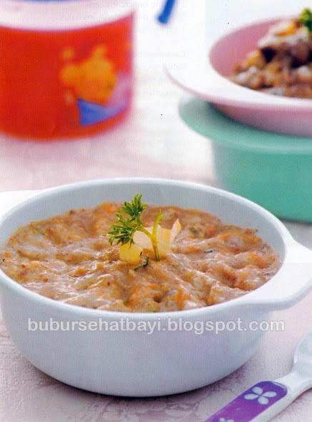 Cuci seafood dengan air jeruk nipis dan garam kemudian bilas Resep Seafood Beras Merah