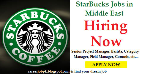 Latest Jobs in Starbucks Coffee Company