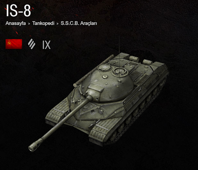 World of Tanks Blitz Sovyet (SSCB) Tank IS-8 Rehberi ve İncelemesi
