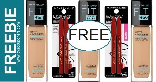 FREE Maybelline Fit Me Foundation CVS Deal 8-15-8-21