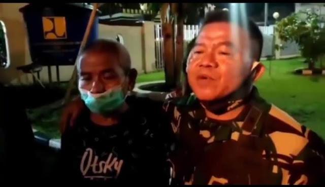 Dijemput Brigjen TNI Junior, Warga Buta Huruf yang Ditahan Polisi Bebas