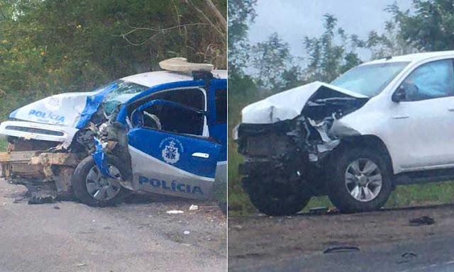 Policial Civil fica ferido em acidente com viatura na Chapada Diamantina