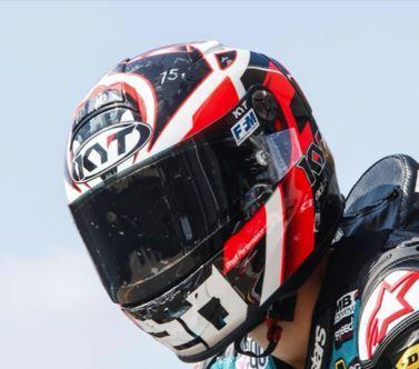 Beberapa Merk Helm Fabio Quantararo