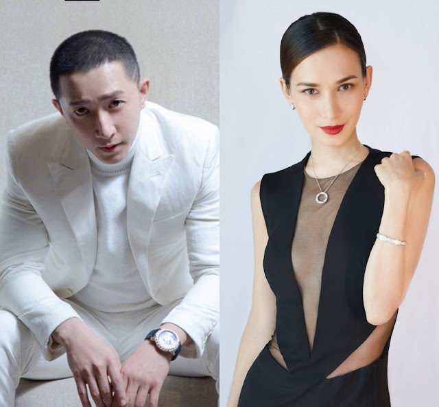 Han Geng Celina Jade couple